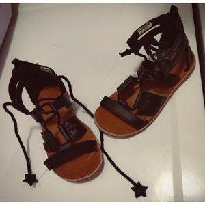 Girls gladiator sandals
